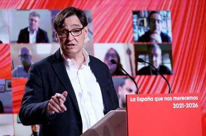 Salvador Illa, del PSC.PSOE