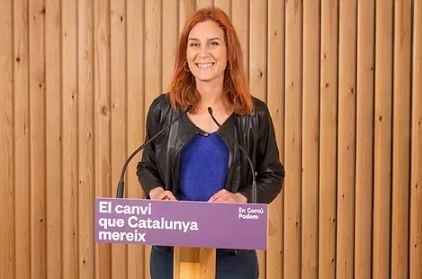 Jéssica Albiach, de Catalunya-En Comú Podem.EUROPA PRESS