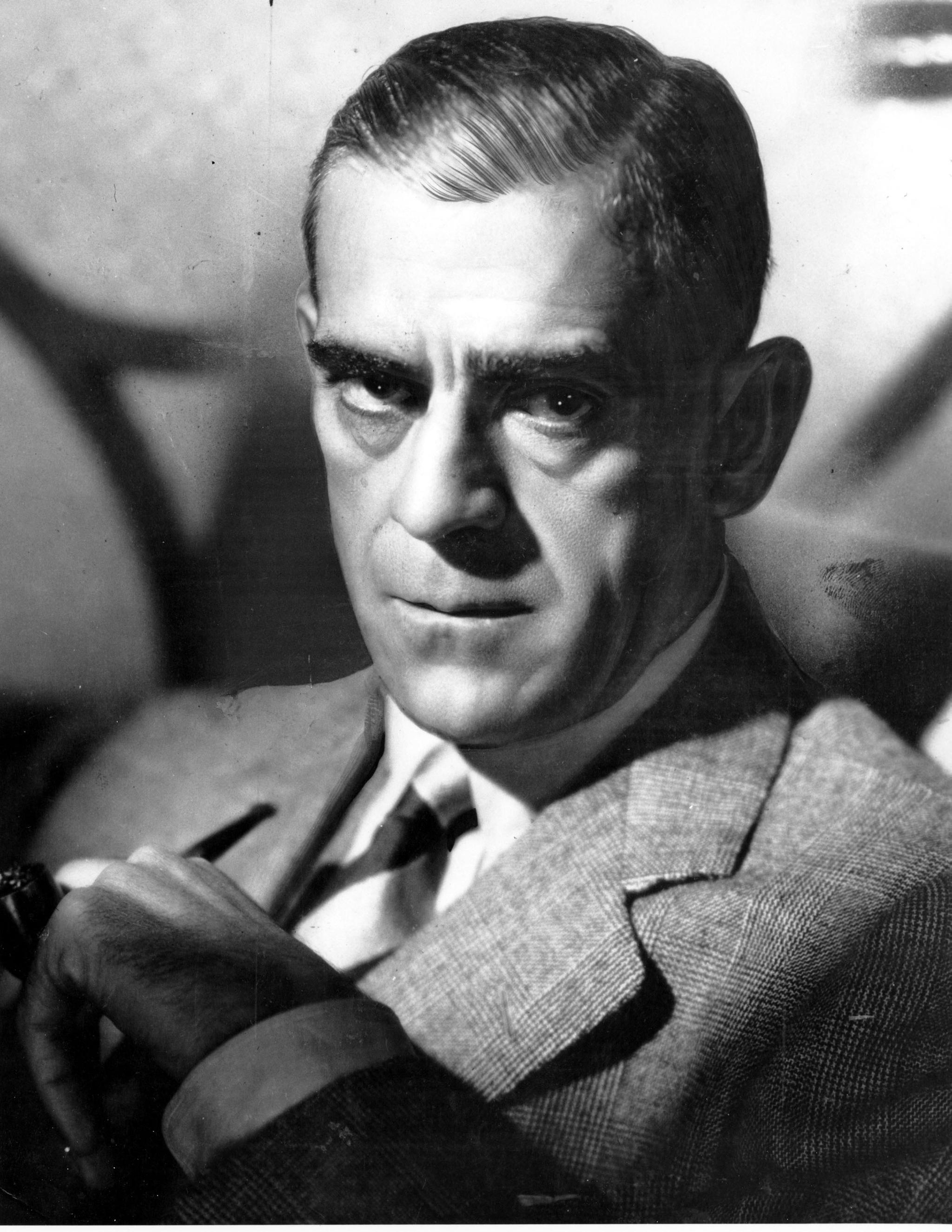 Boris Karloff, en una imagen tomada en noviembre de 1942.