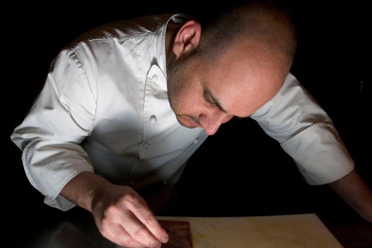 Jordi Artal en pleno proceso creativo.