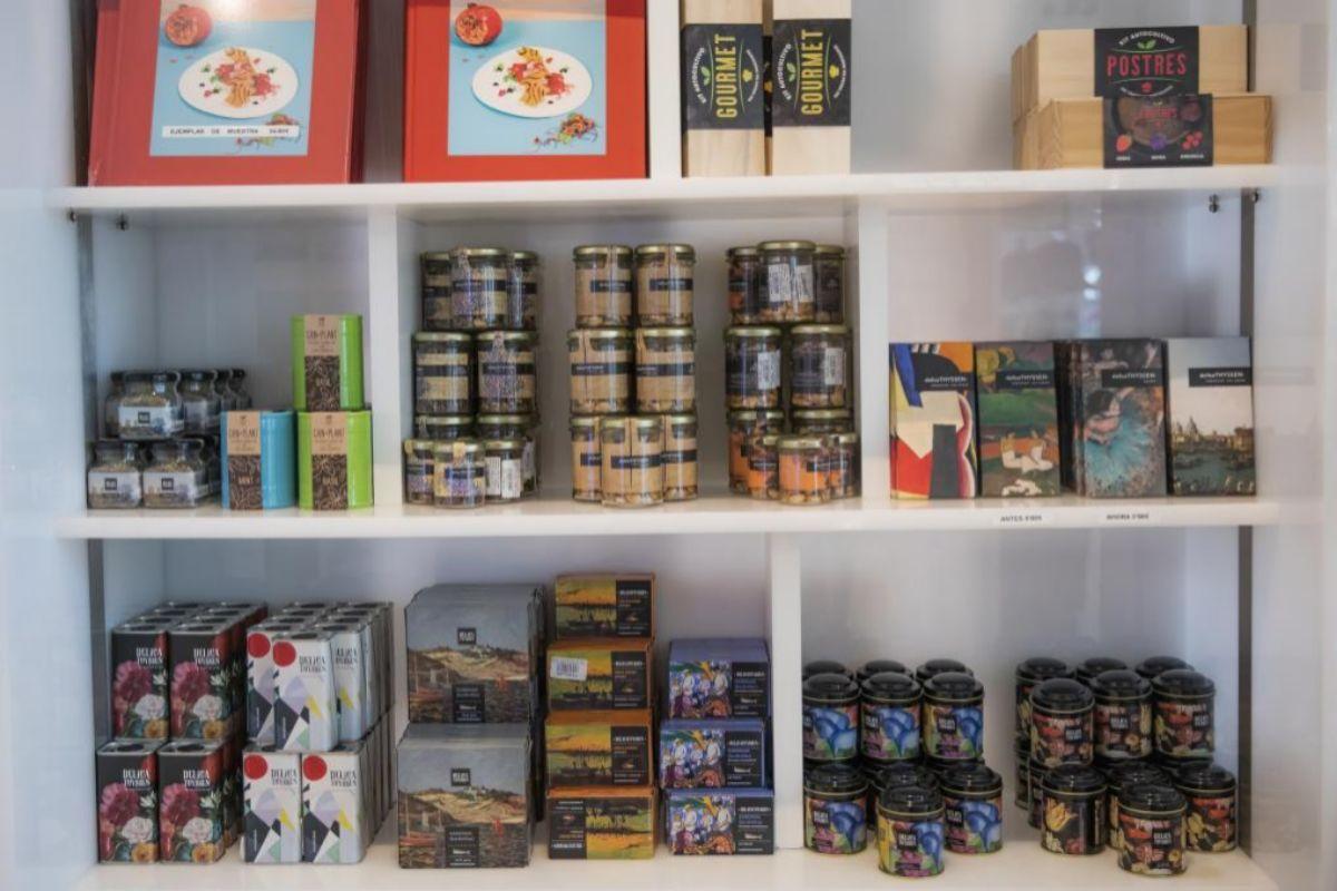 DelicaThyssen ofrece mermeladas, vinos, mejillones, chocolate...