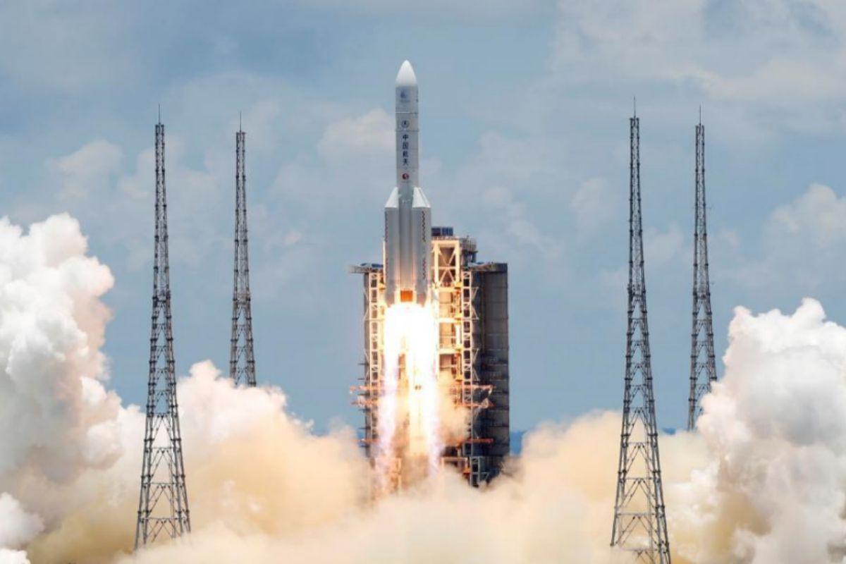 La nave despegó el 23 de julio a bordo de un cohete Long March 5