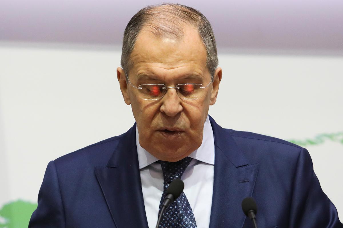 El ministro de Exteriores ruso, Sergei Lavrov.