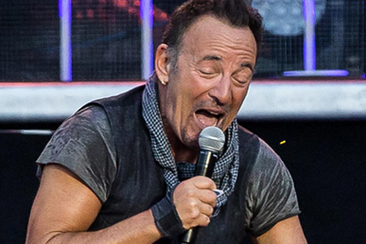 Bruce Springsteen, en un concierto en 2016