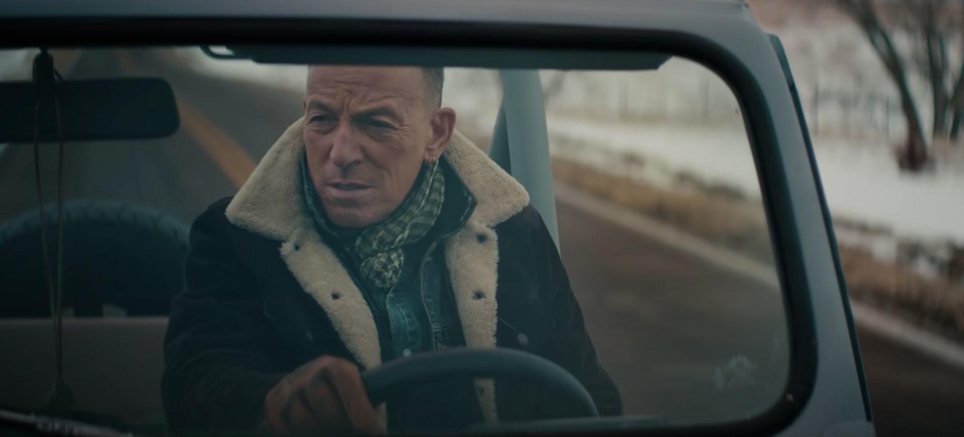 Bruce Springsteen en el  anuncio de Jeep