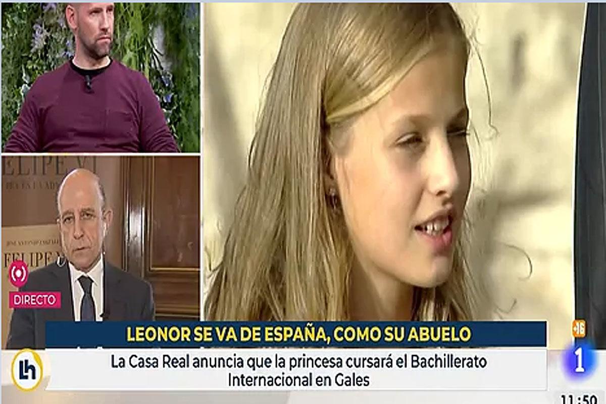 TVE salda el incidente del rótulo sobre la Princesa Leonor con los ceses de un guionista externo y una coordinadora