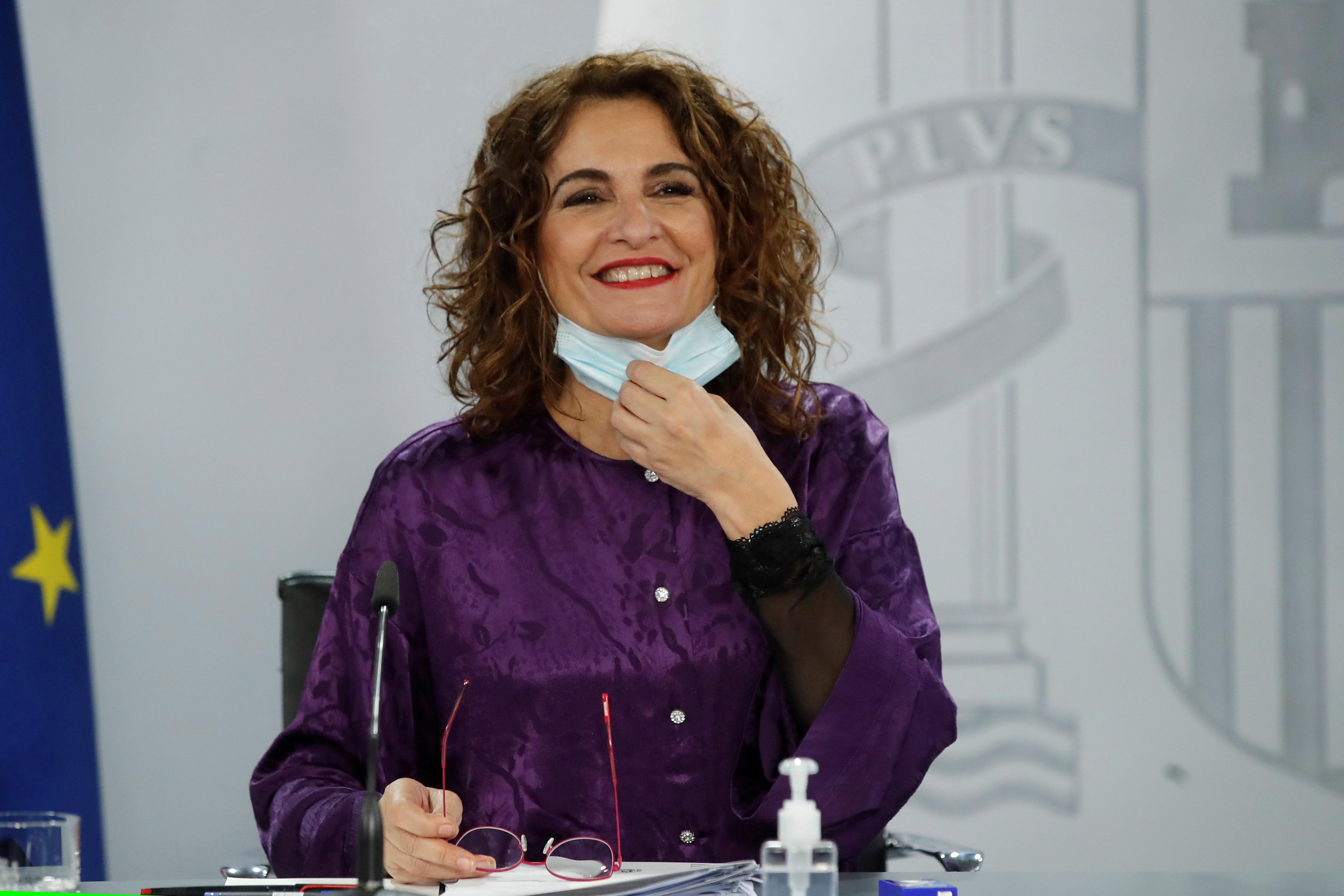 La ministra de Hacienda y portavoz de Hacienda, María Jesús Montero.