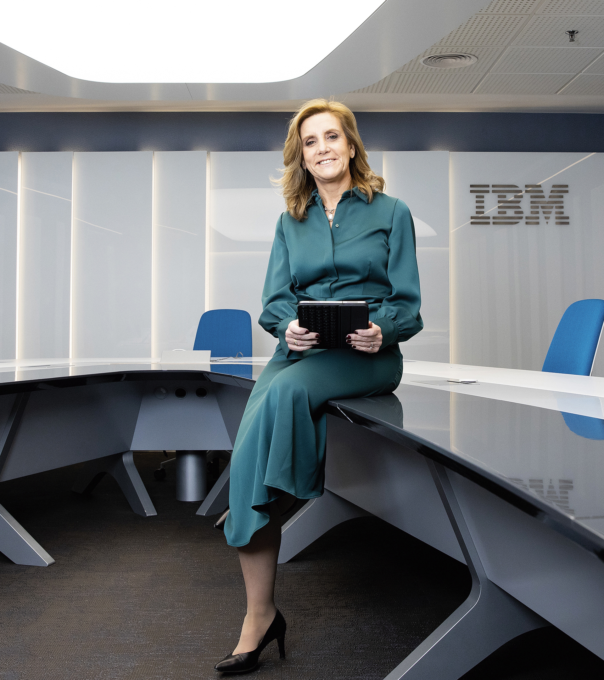"""Marta Martínez (IBM): """"El perfil técnico era masculino  y frío pero eso ya no es así"""""""