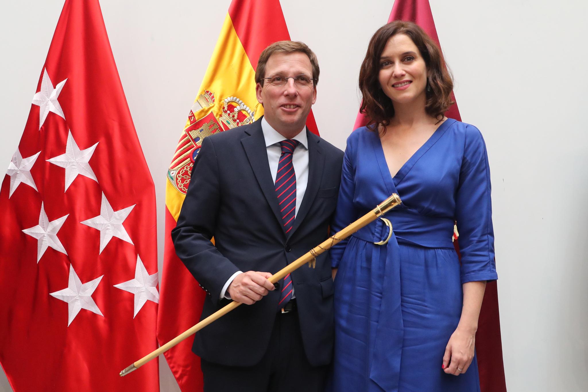 José Luis Martínez-Almeida e Isabel Díaz Ayuso