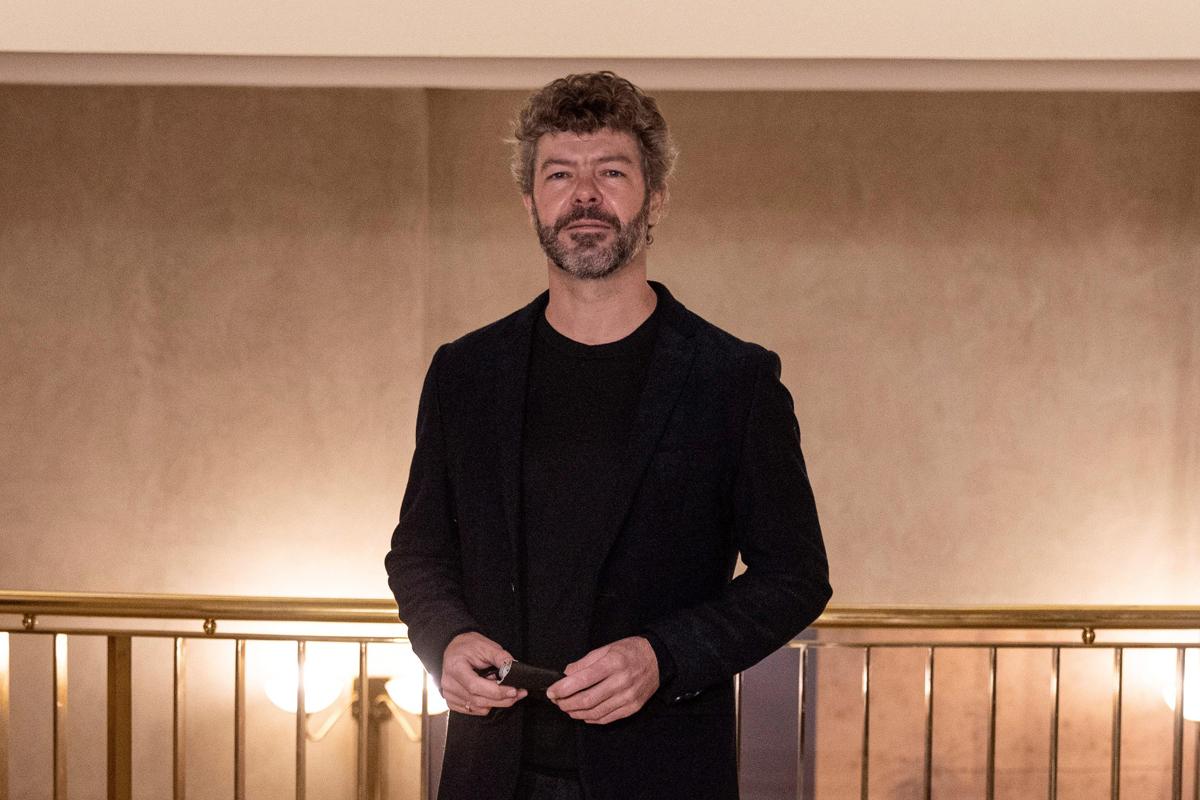 Pablo Heras-Casado (Granada, 1977), este martes en el Teatro Real de Madrid.