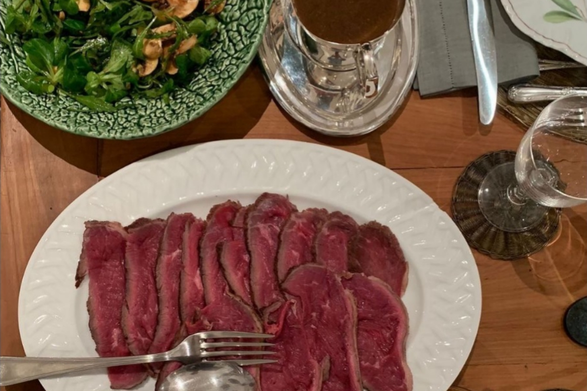 La marca ofrece recetas para la elaboración de productos como el 'roast beef'.