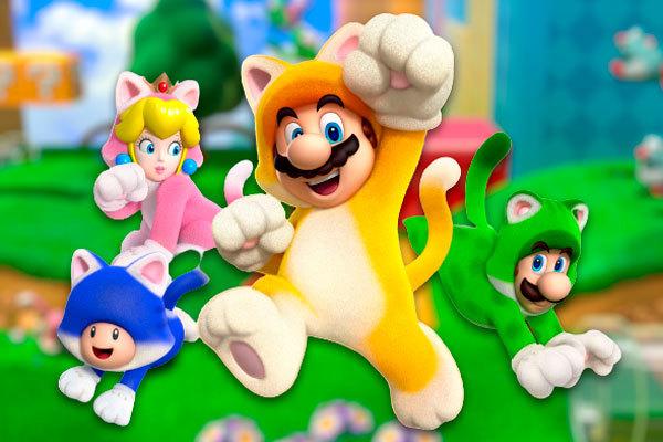 Super Mario 3D World, otro juego perfecto para los confinamientos