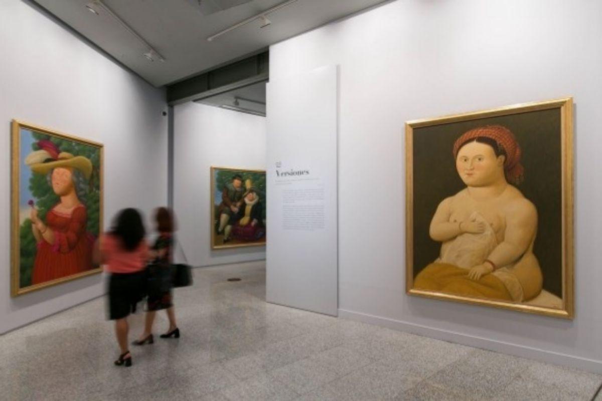 'Botero. 60 años de pintura'.