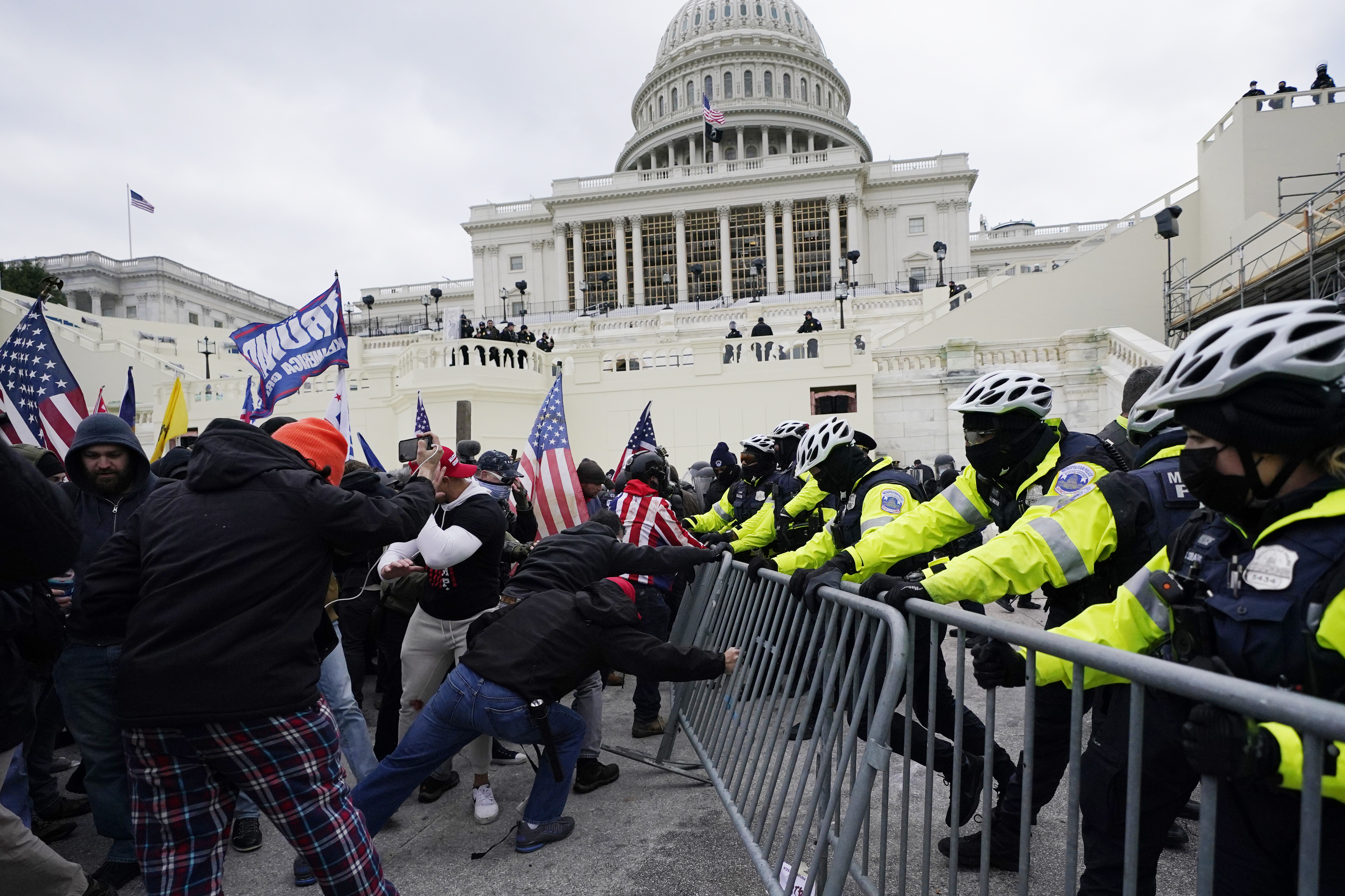 Assault on the Capitol, on January 6.