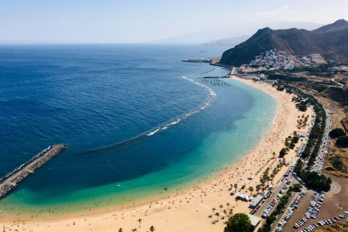 Playa de Las Teresitas, Tenerife.