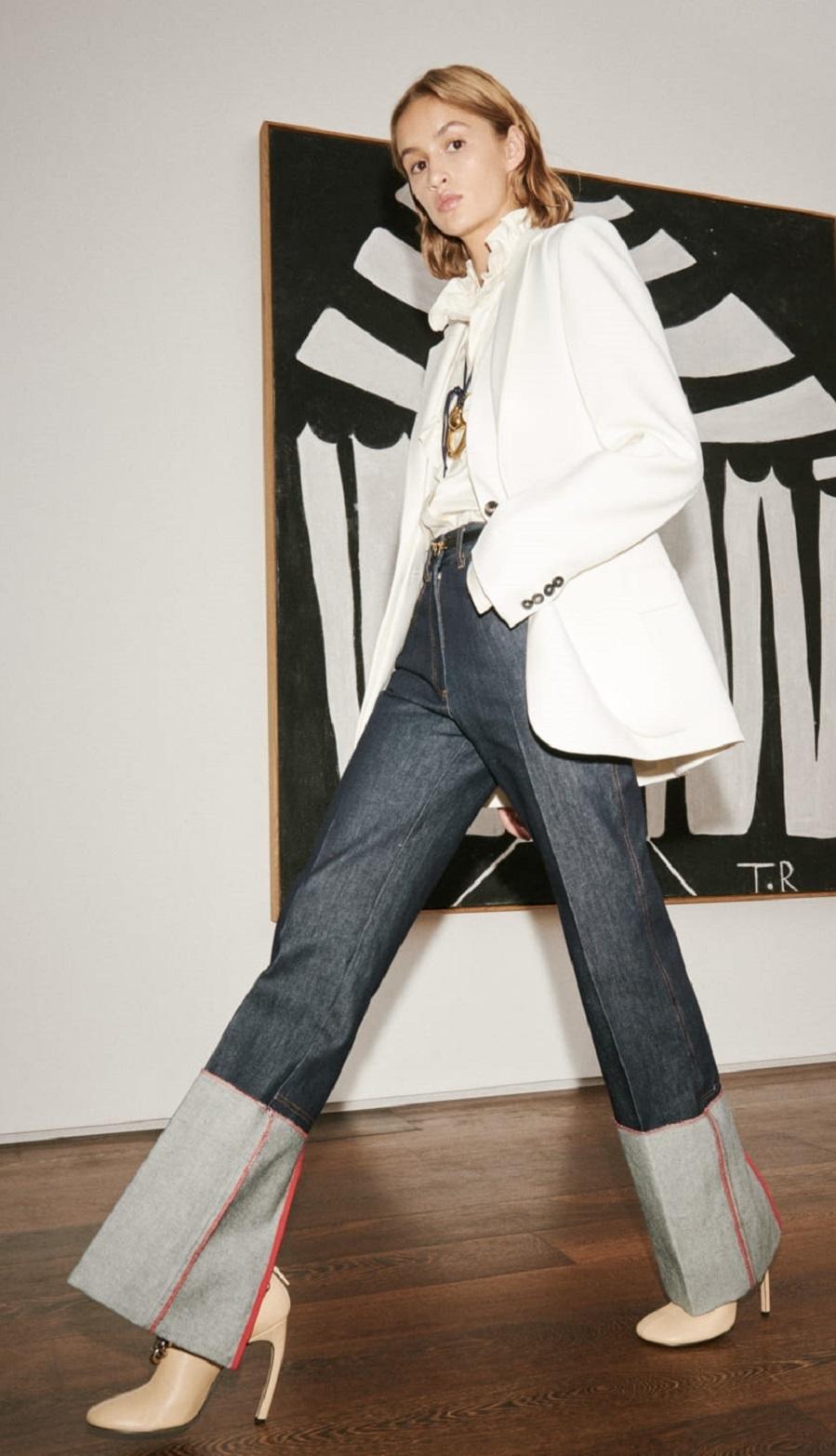 Americana y jeans, la pareja del año - Victoria Beckham