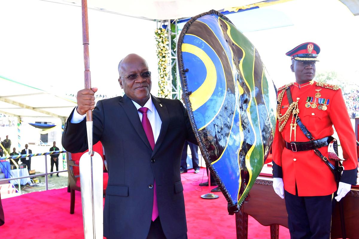 El presidente tanzano, John Magufuli.