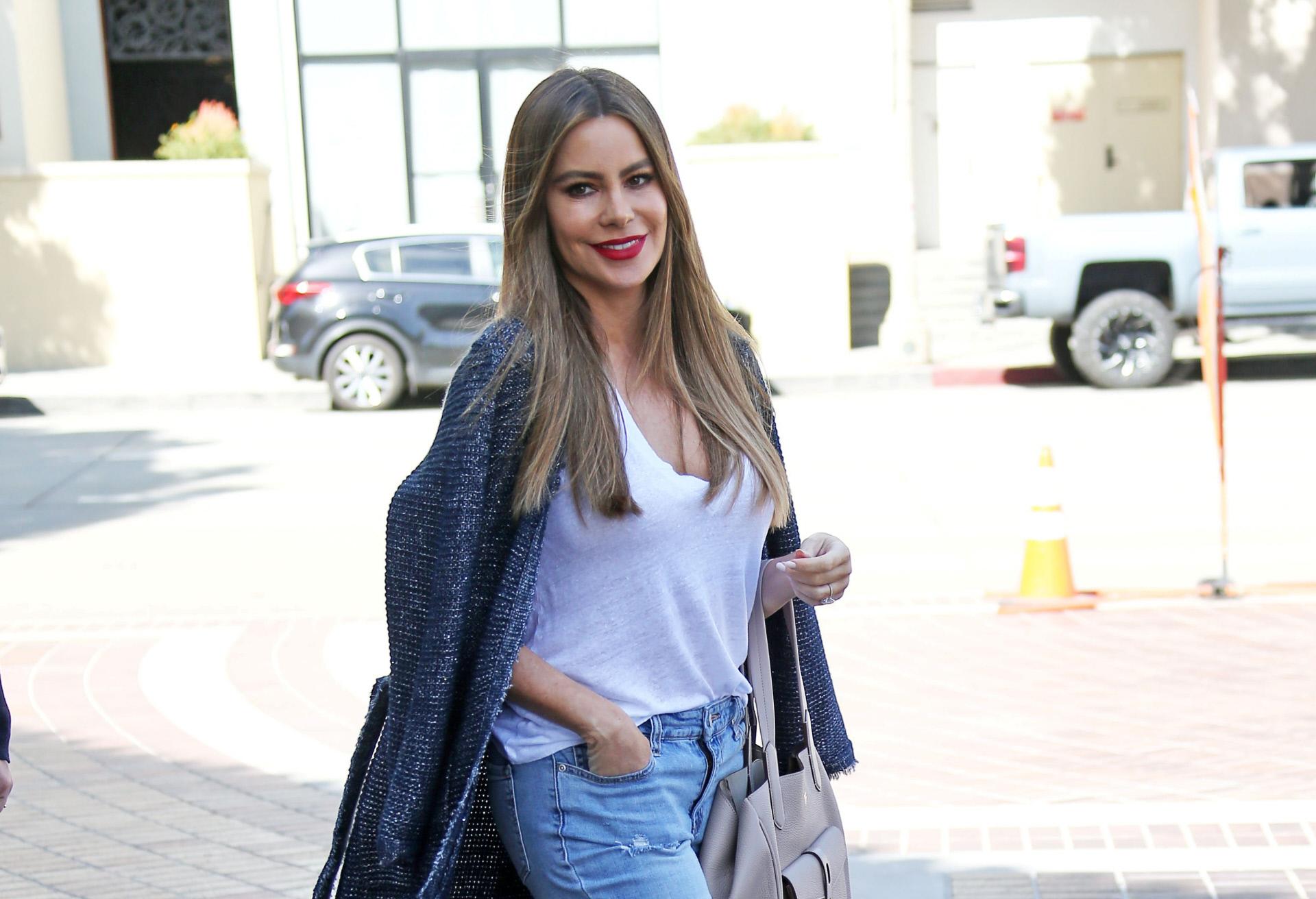 Sofía Vergara, en Los Ángeles.