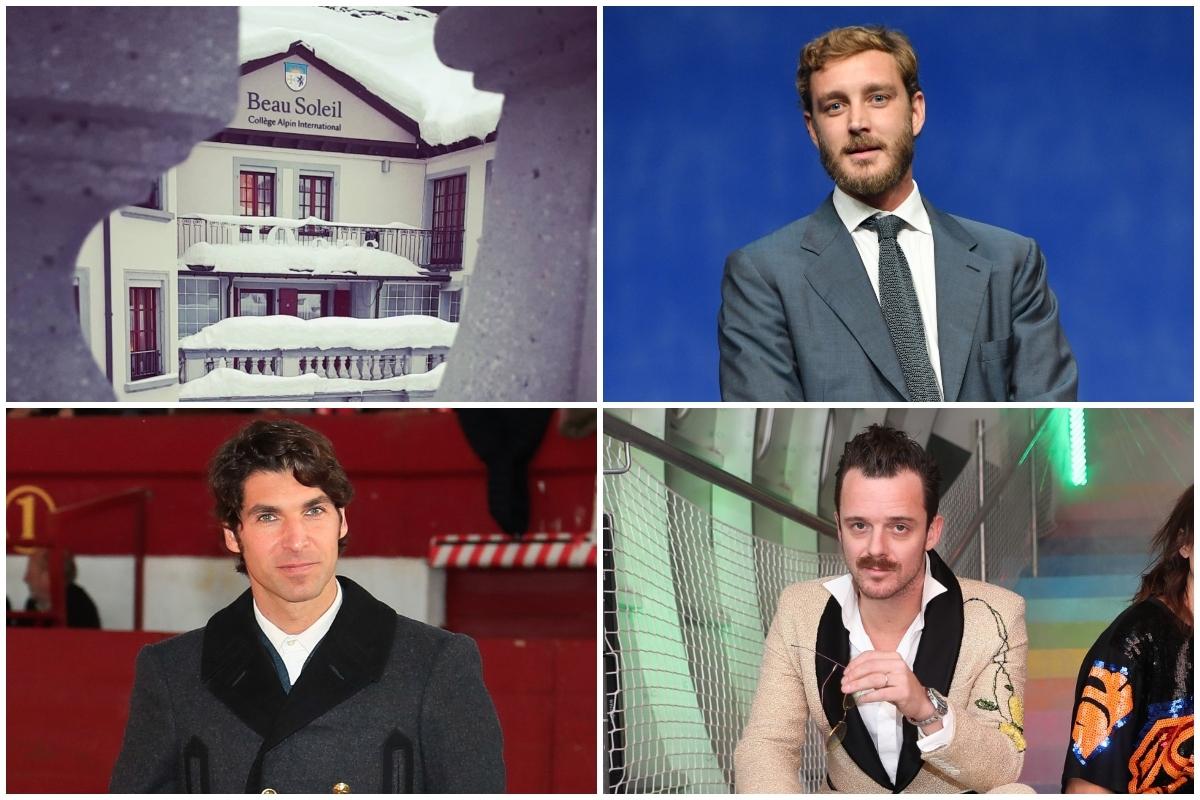 Aldo Comas y Pierre Casiraghi se conocieron en el College Alpin Beau Soleil, donde también estudió Cayteano Rivera.
