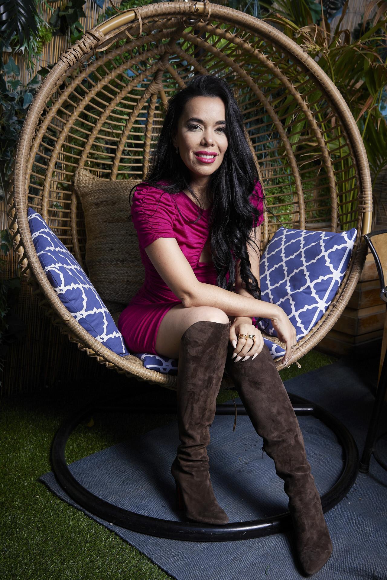 La cantante Beatriz Luengo, en un posado reciente.