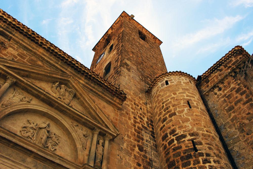 Iglesia de la Asunción en Yeste (Albacete).