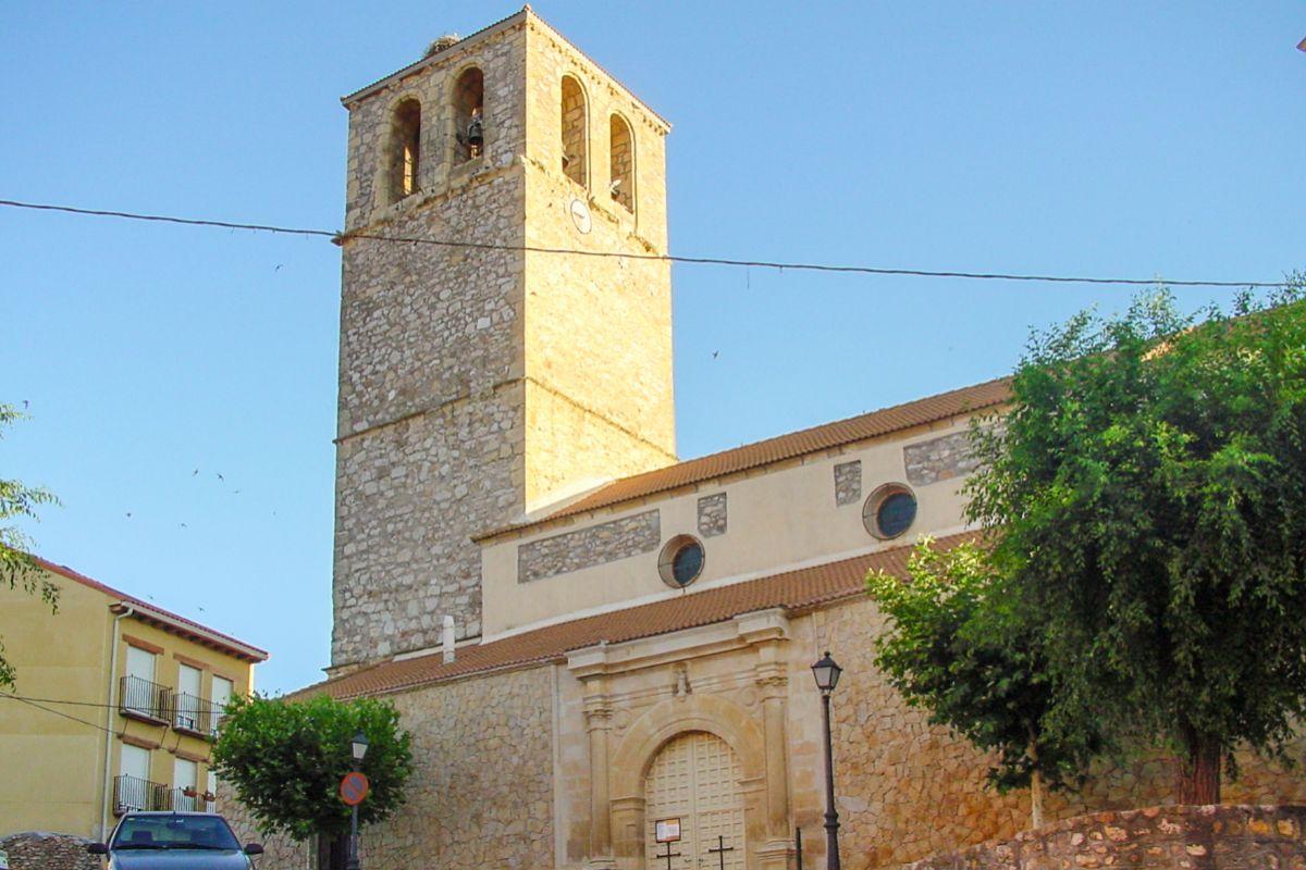 Iglesia de San Agustín, en San Agustín de Gadalix.