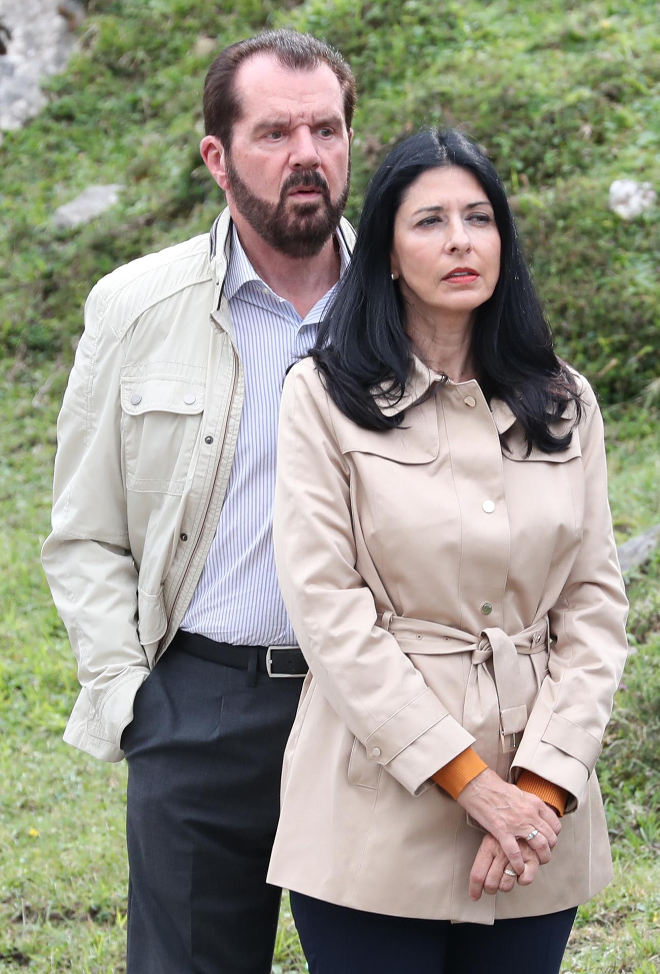 Jesús Ortiz y su mujer, Ana Togores.