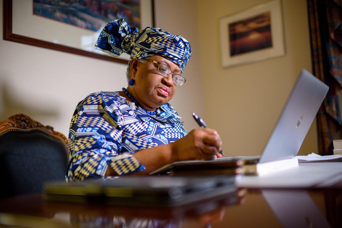 La nigeriana Ngozi Okonjo-Iweala.
