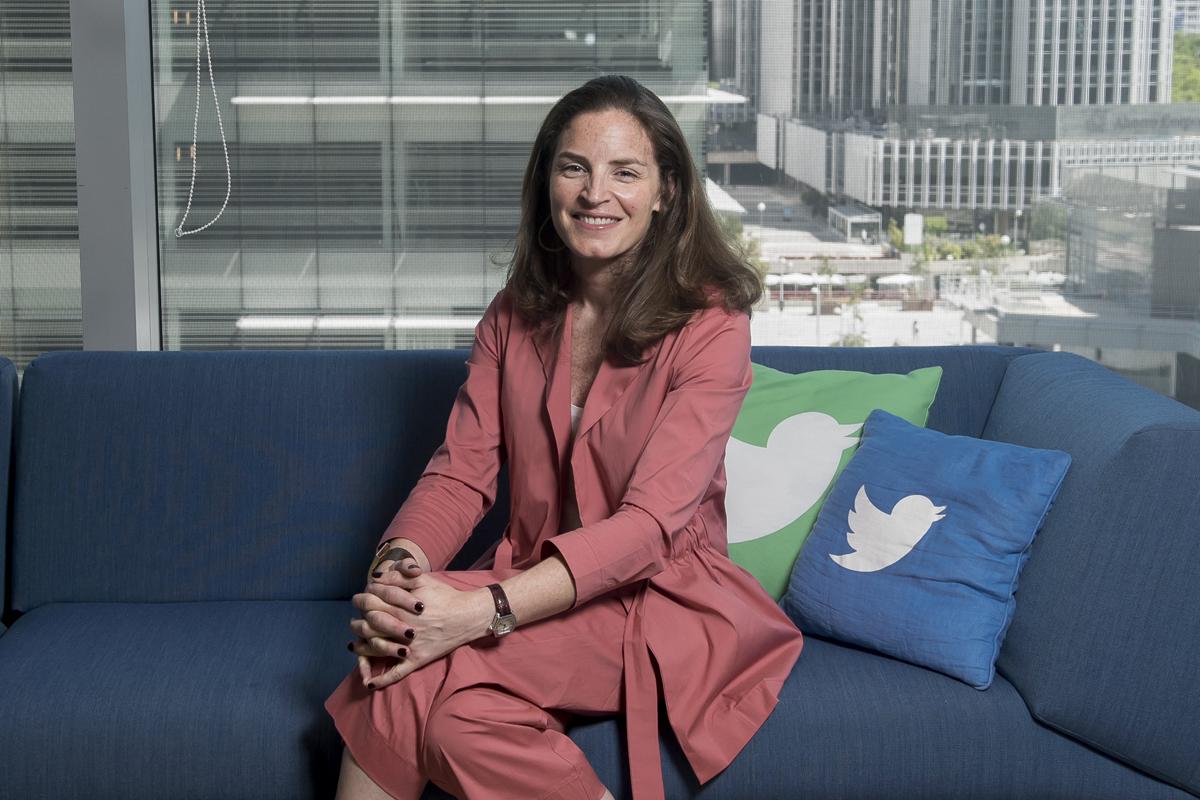 La todavía directora general de Twitter para España, Nathalie Picquot.