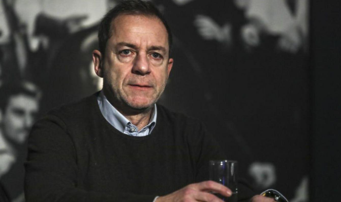 El ex director del Teatro Nacional griego Dimitris Lignadis.