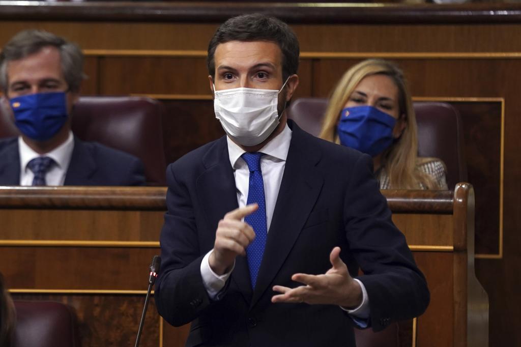 Pablo Casado, en una imagen reciente en el Congreso.