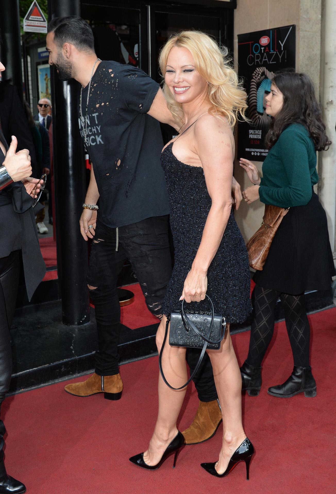 La actriz Pamela Anderson.