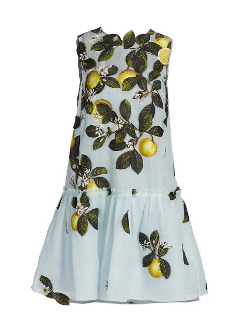 El vestido es de la colección Citrus de Oscar de la Renta. Foto: Oscar de la Renta.