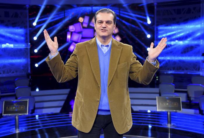 El presentador Ramón García.