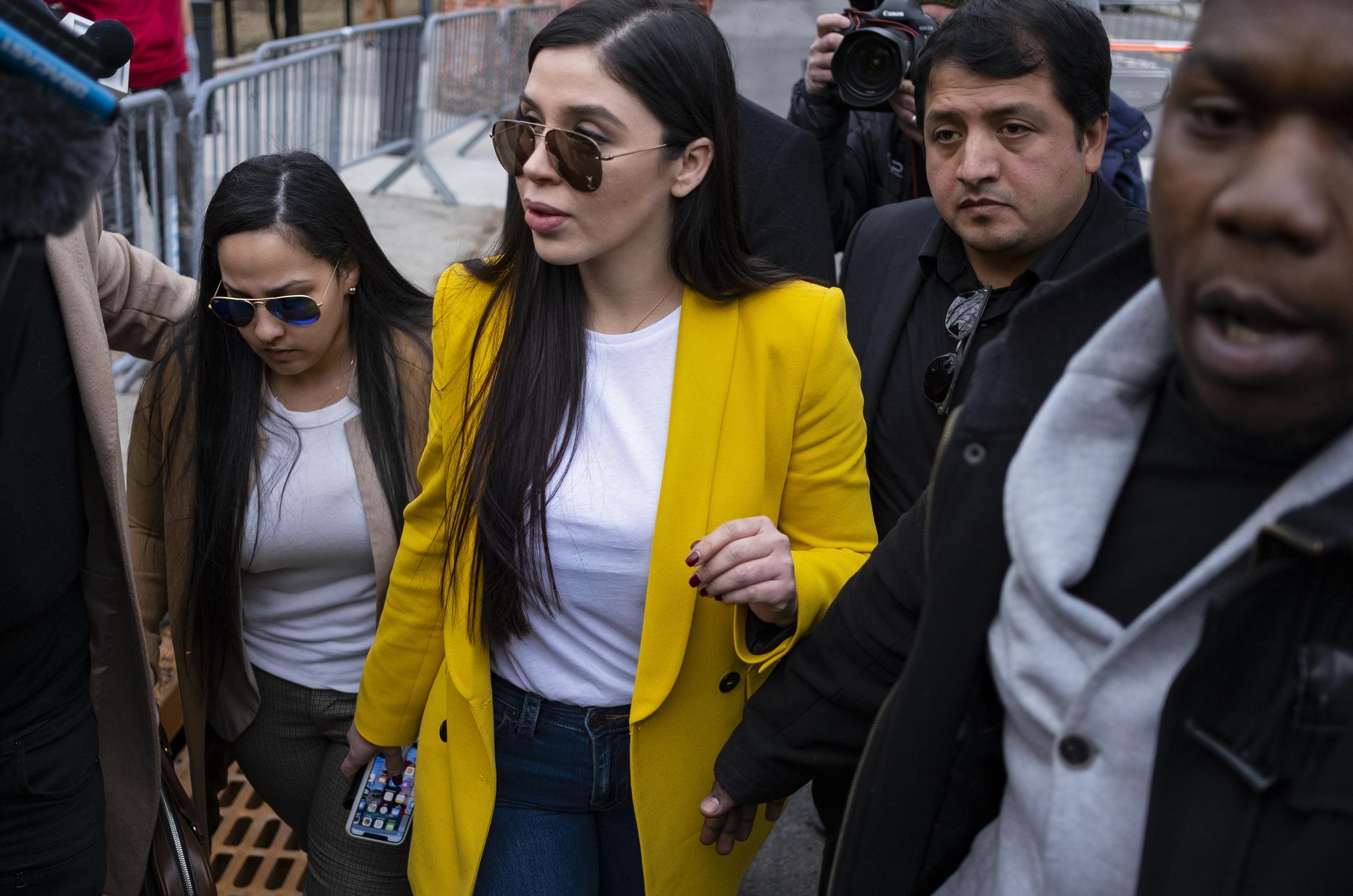 Emma Coronel Aispuro, mujer de 'El Chapo' Guzmán.