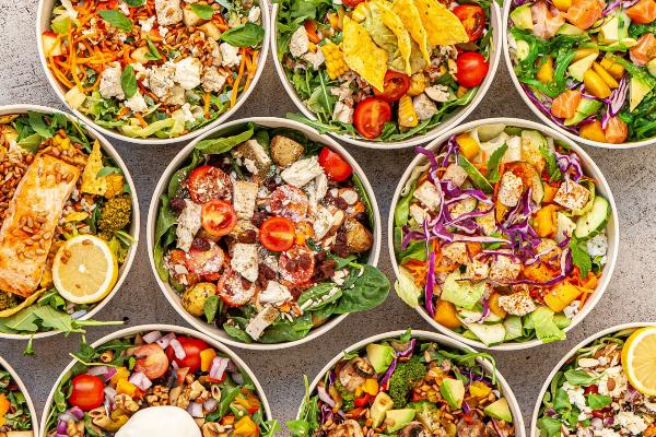 En The Circle Food se puede crear el bowl al gusto de la persona.
