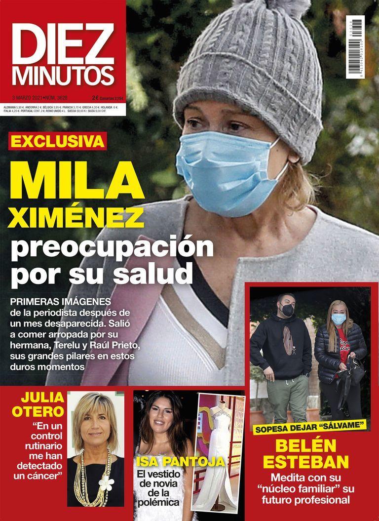 Preocupación por la salud de Mila Ximénez