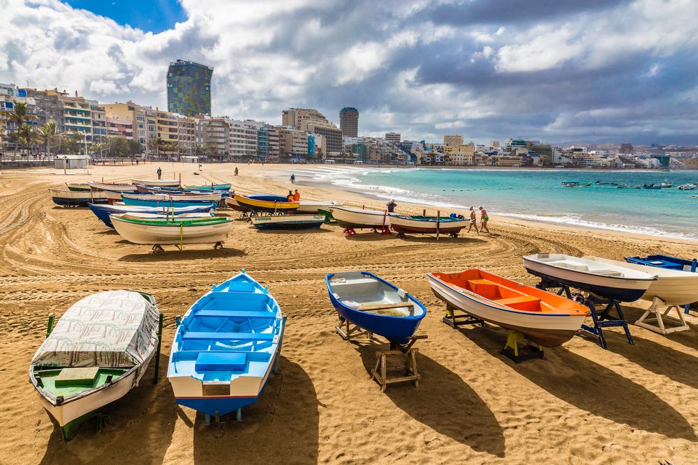 Las Palmas de Gran Canaria, destino de teletrabajo desde 2015.