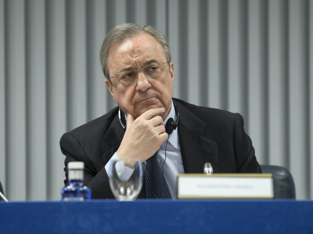 Florentino Pérez, presidente de ACS, en una imagen de archivo.