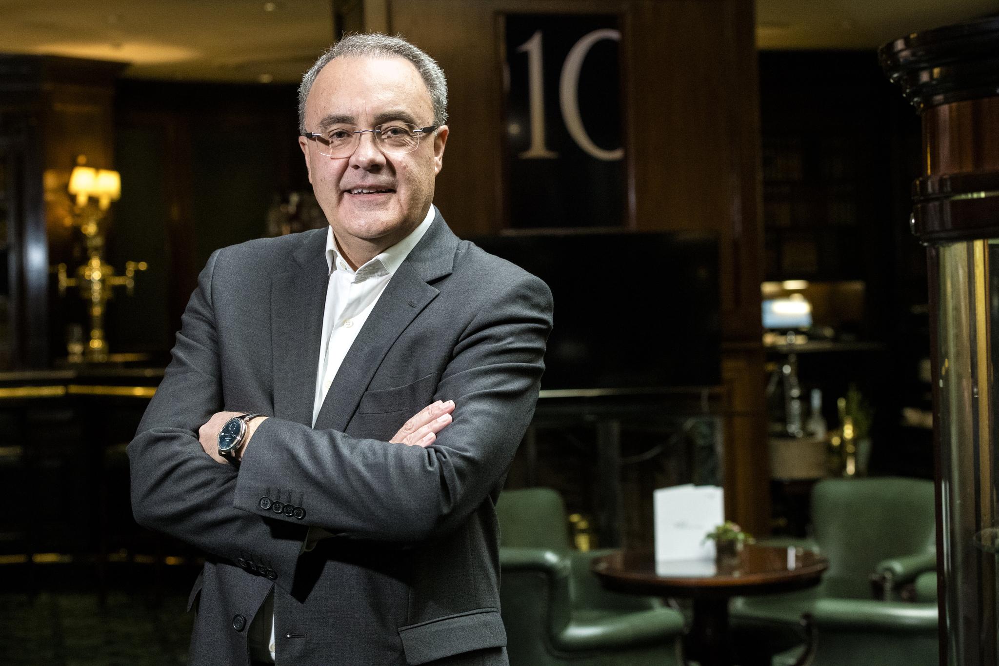 Tobías, Martínez, CEO de Cellnex.