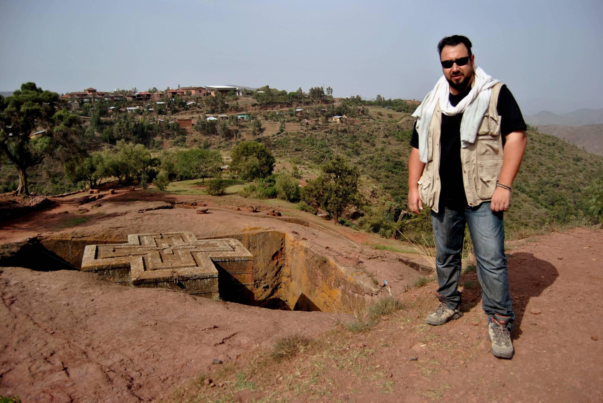 Vivas en una expedición a Lalibela (Etiopía) en 2017.