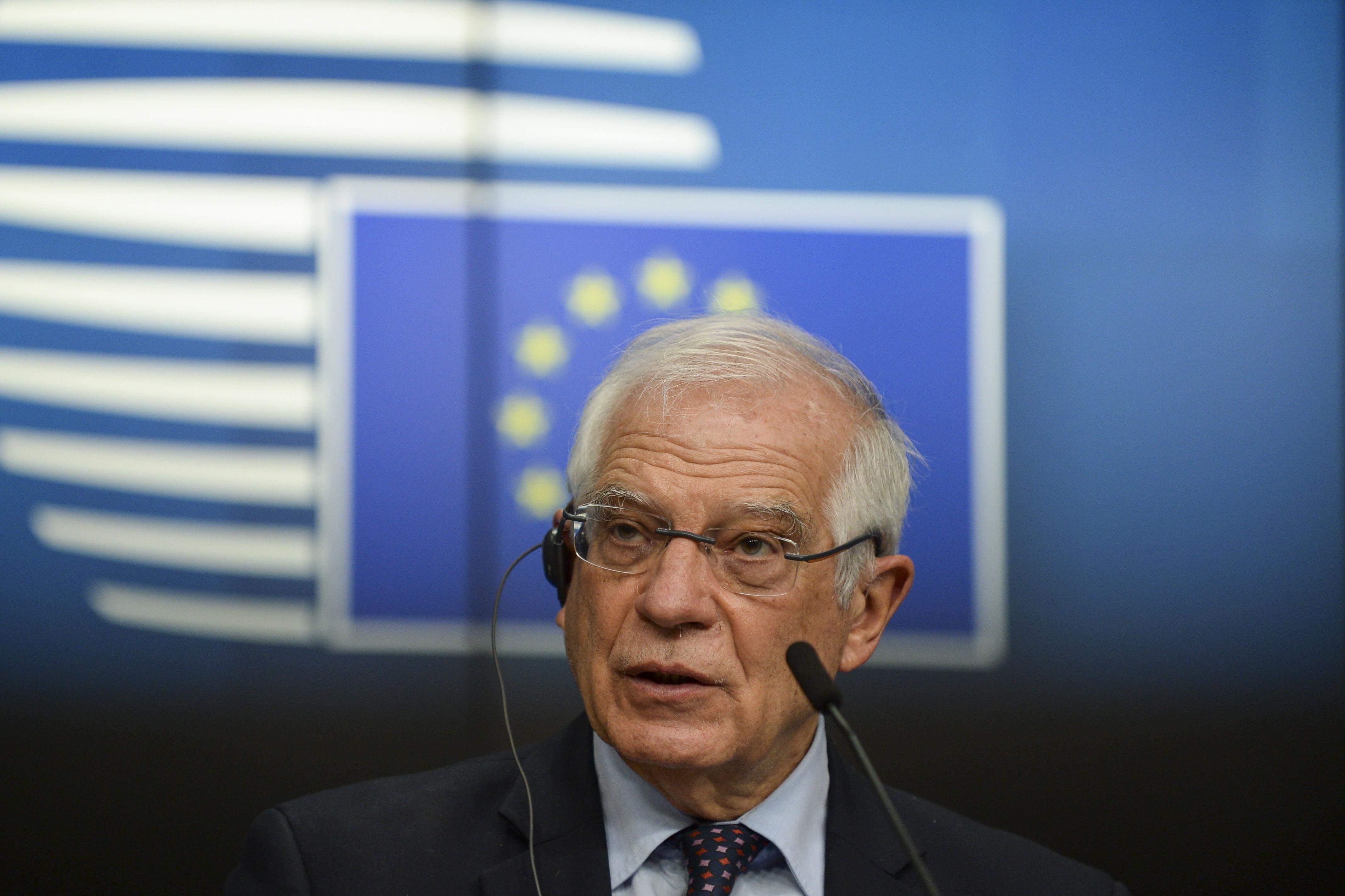 El alto representante para la Política Exterior de la Unión Europea, Josep Borrell.