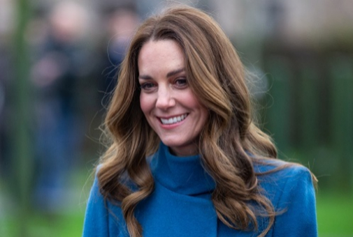 Kate Middleton y sus mechas face framing