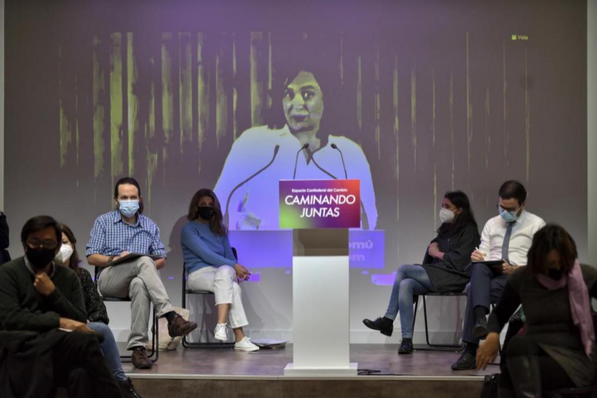 Pablo Iglesias se reúne con el 'núcleo duro' de Unidas Podemos a escasos días de su cita con Pedro Sánchez