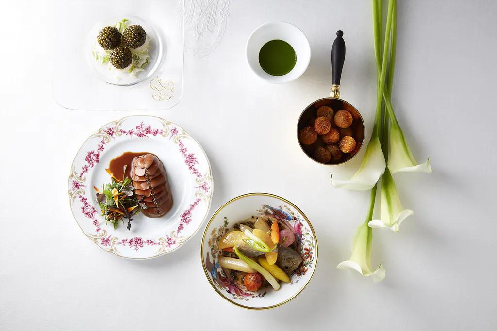 El chef Alain Ducasse recreará alguno de los platos ofrecidos en los banquetes de Luis XIV.