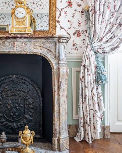 Detalle de la habitación L'Orangerie.