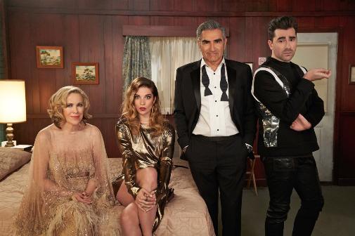 El Globo de Oro a mejor comedia y a mejor actriz del género (Catherine O'Hara) se los ha llevado Schitt's Creek.