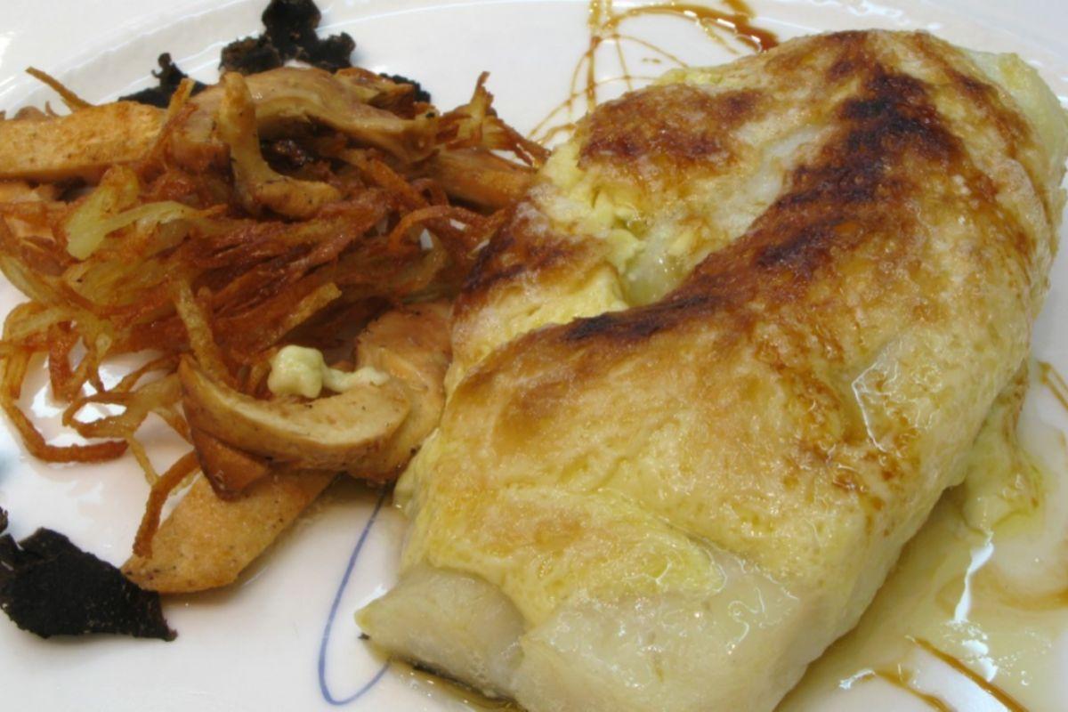 Bacalao gratinado de 'La Cocina de María Luisa'.