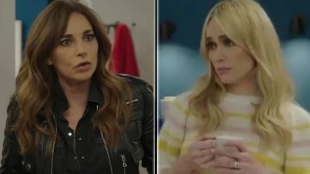 Mariló Montero y Patricia Conde, en 'Nadie al volante'.