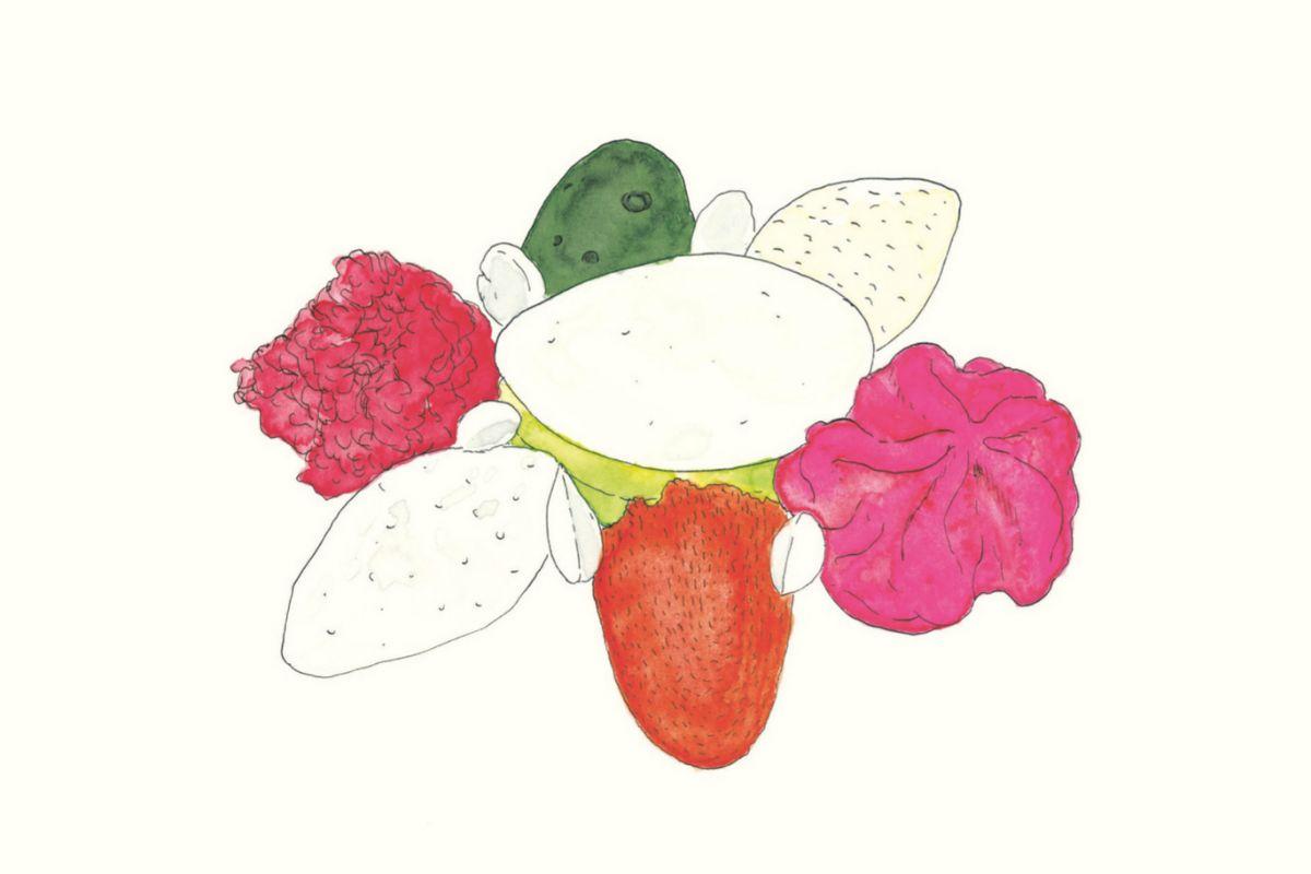 La menestra de verduras en texturas, de Ferran Adrià.